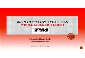 Road to Success: 5 Year Plan